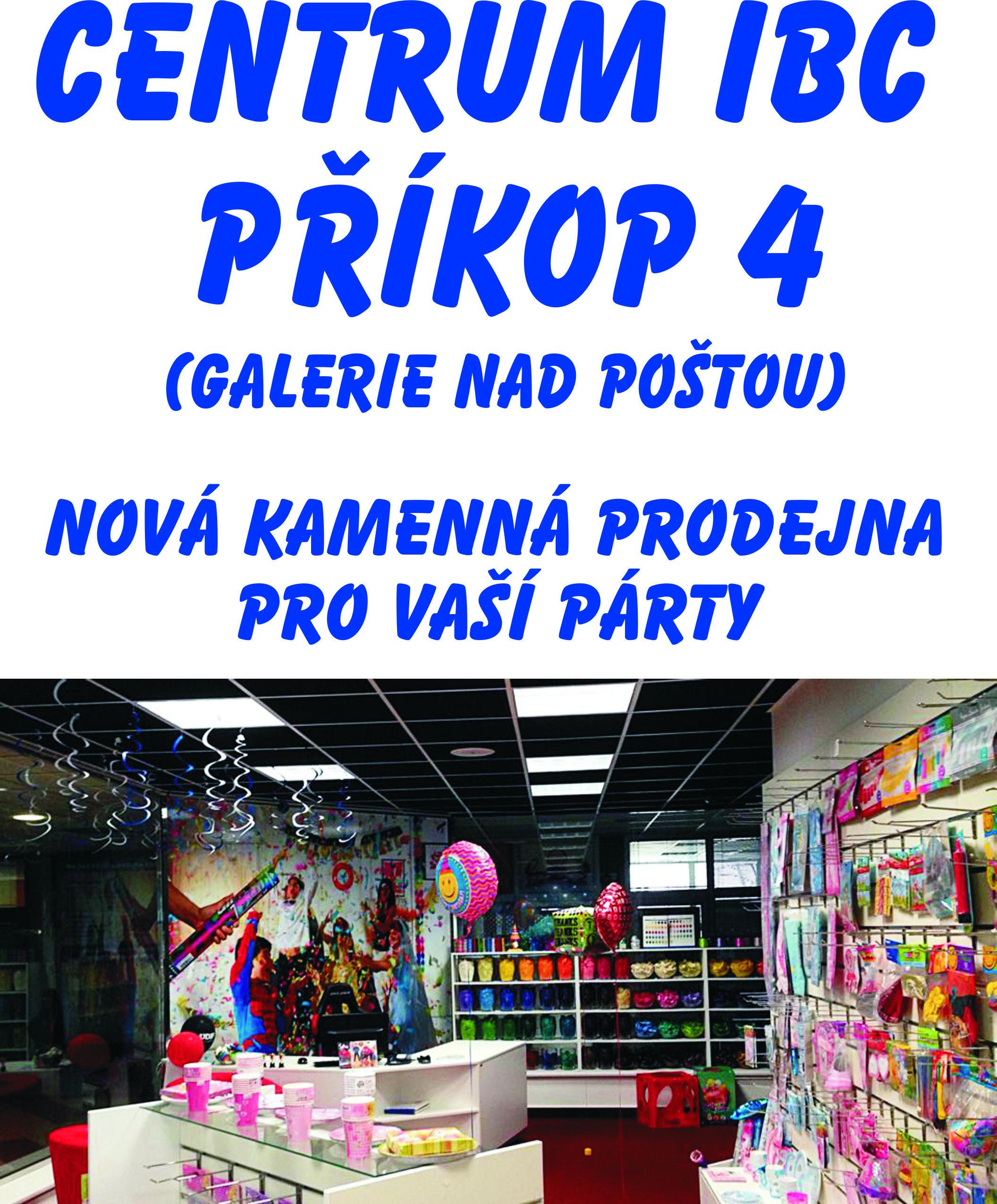 Balonky.cz - kamenná prodejna