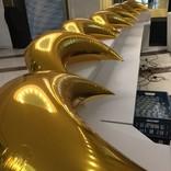 balonky foliove zlaty  mesic