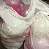 Pytel pro přepravu balónků s héliem
