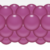 Balónková girlanda tmavěrůžová 3 m
