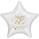78. narozeniny balónek hvězda