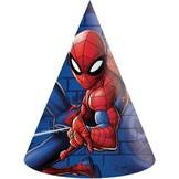 Spiderman čepičky 6 ks