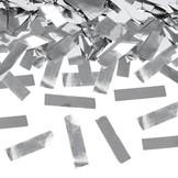 Vystřelovací konfety stříbrné 60cm