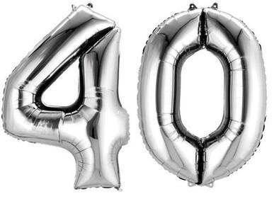 40.narozeniny výzdoba