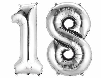 18.narozeniny výzdoba