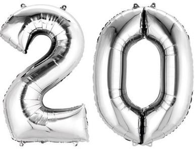 20.narozeniny výzdoba
