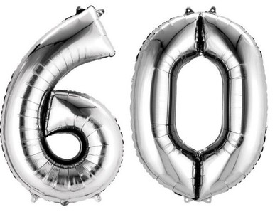 60.narozeniny výzdoba