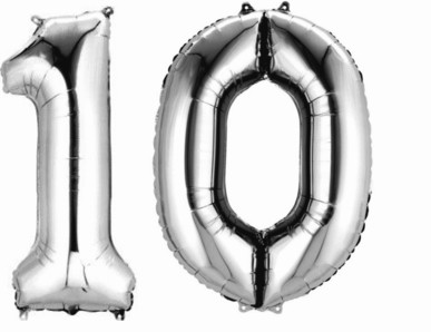 10.narozeniny výzdoba