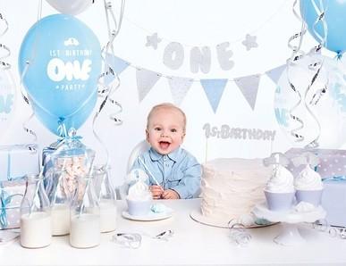První narozeniny chlapeček