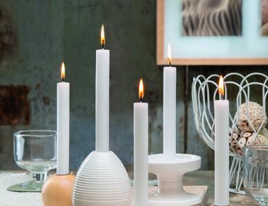 Slavnostní atmosféra se svíčkou