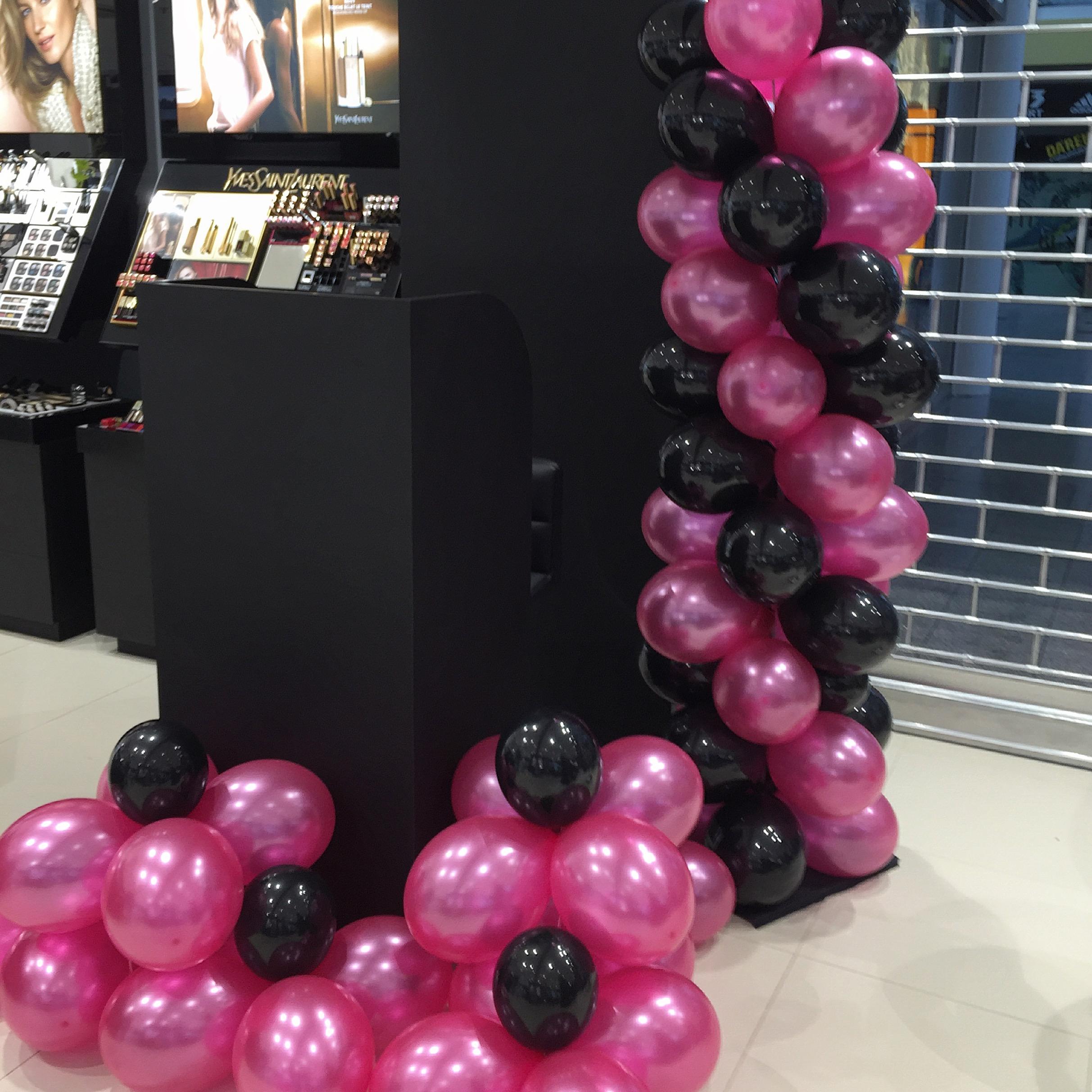 Balónek BLACK 025