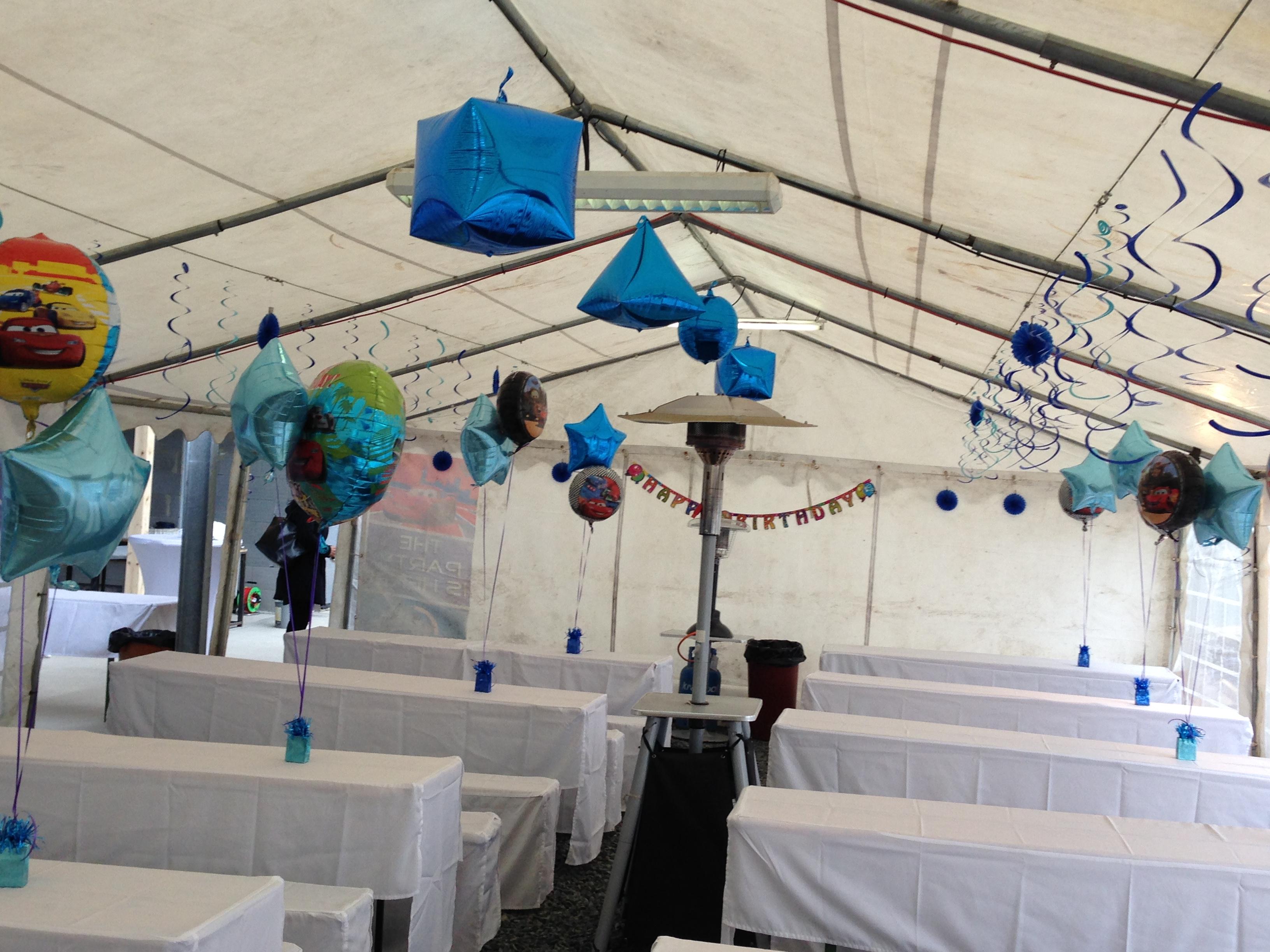 Foliový balónek modrá koule 38 cm