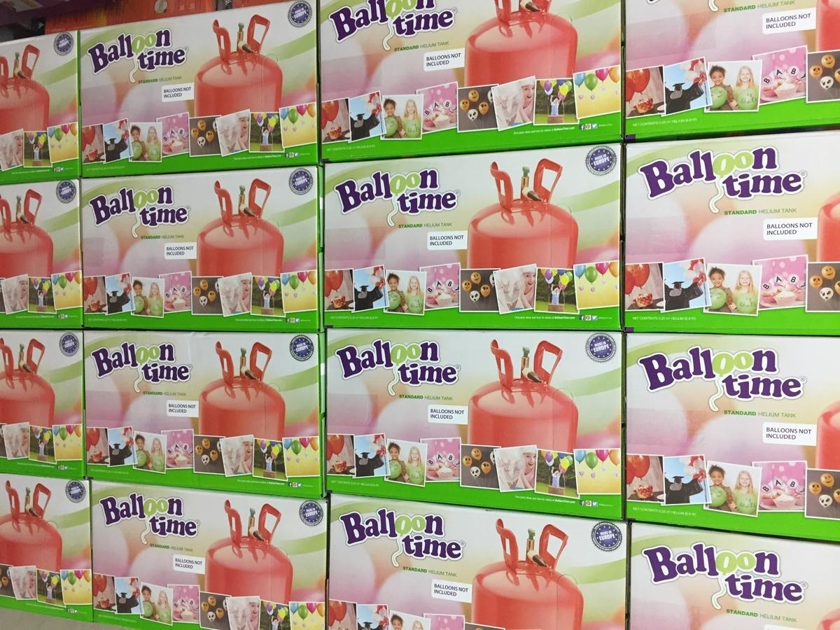 Helium Balloon time + balónky světle růžové 30ks