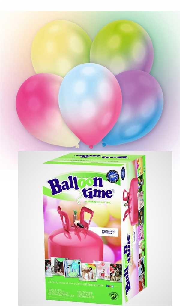 Balloon time + LED balónky mix 16ks