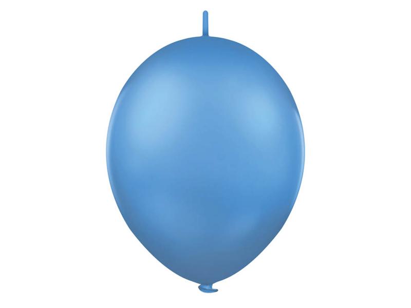 Balónek řetězový 1ks - tmavě  modrá