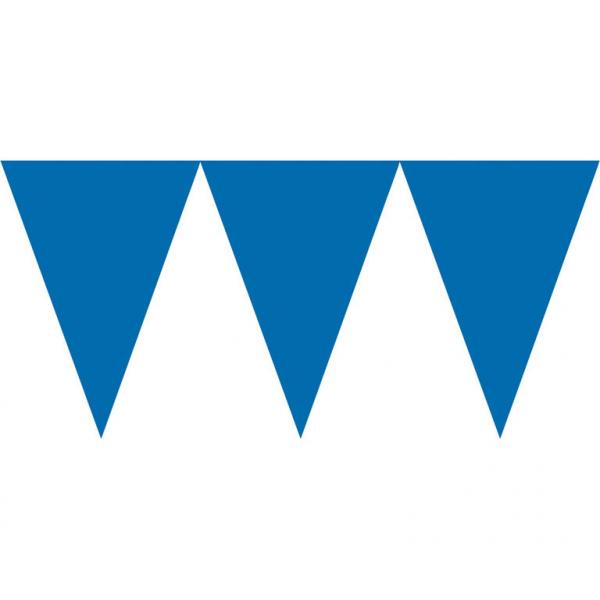 Vlajka modrá 450cm