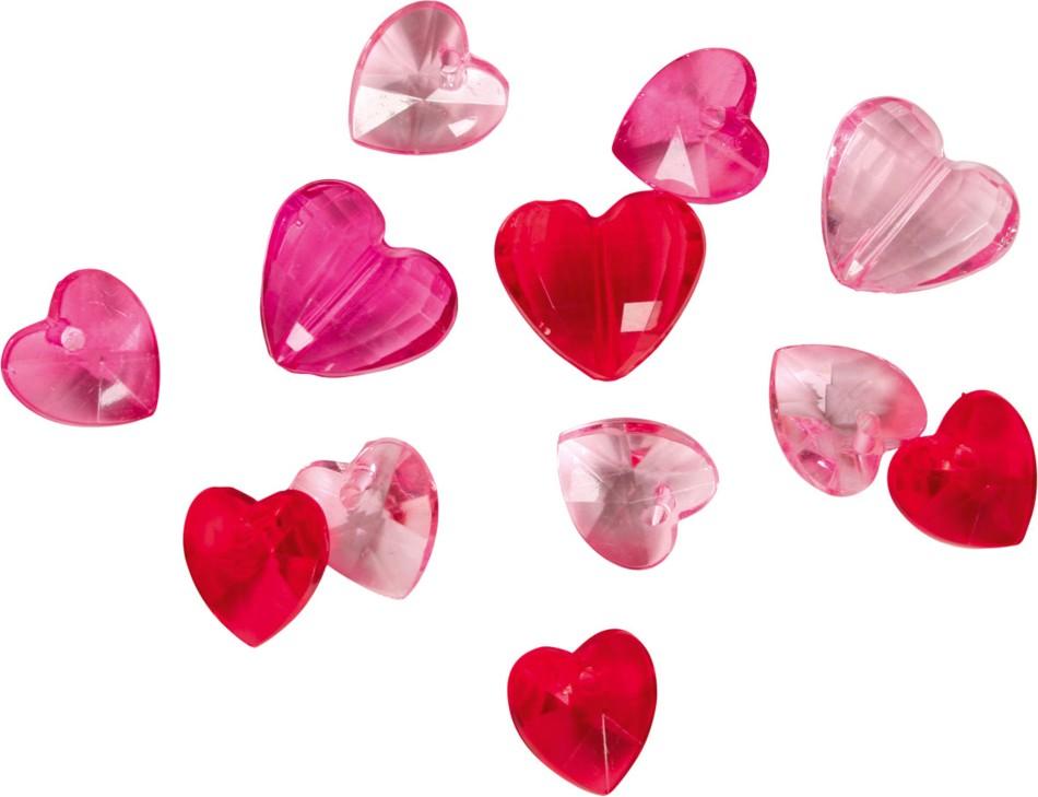 Vakentýn - konfety srdíčka
