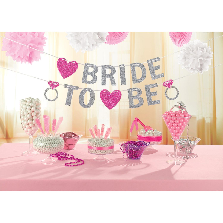 Nápis BRIDE TO BE 365 cm x 12,7 cm Amscan
