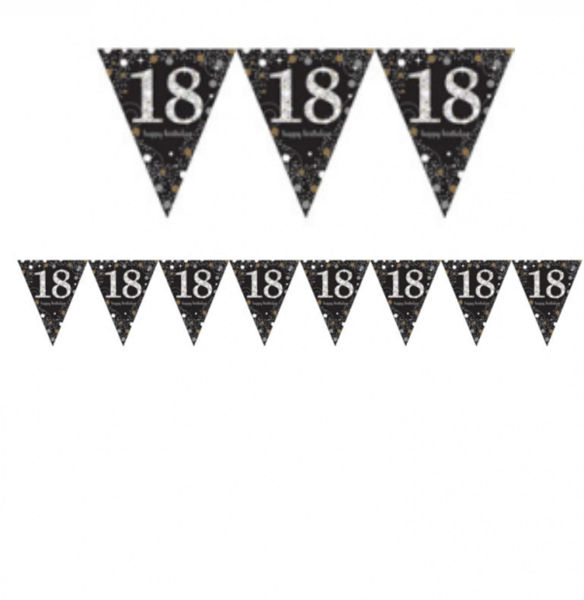Vlajka 18. narozeniny 4 m Amscan