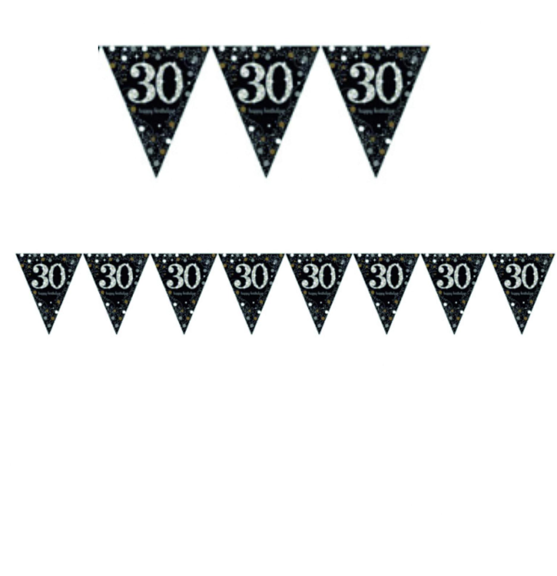 Vlajka 30. narozeniny 4 m Amscan