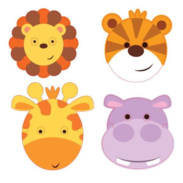 Masky safari 8ks