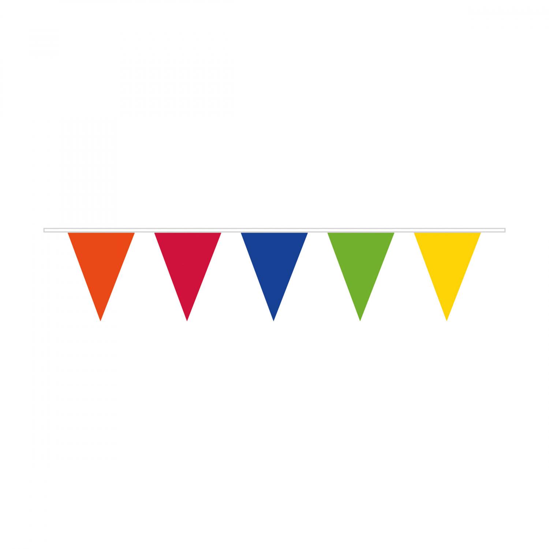 Vlajka barevná tmavá 10 m Amscan