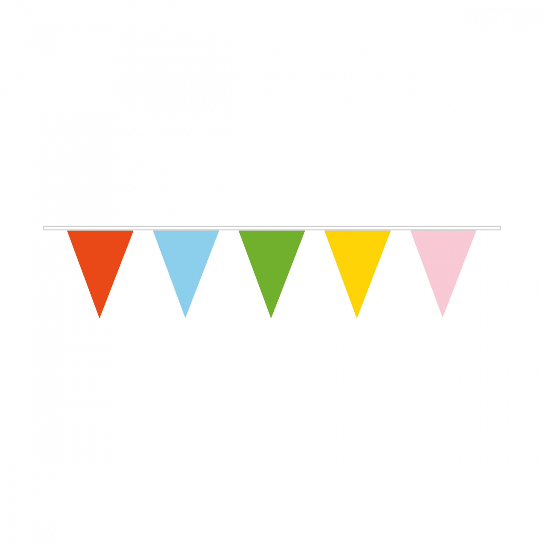 Vlajka barevná 10 m Amscan