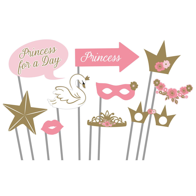 Princess fotokoutek 10 ks Amscan