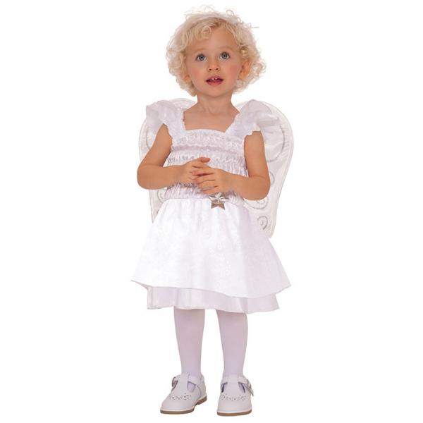 Amscan kostým Malý Andílek bílý 12 - 24 měsíců, 86cm