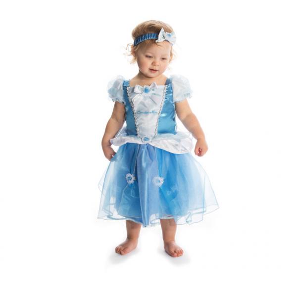 Amscan kostým Disney Popelka modrý 12 - 18 měsíců modrý