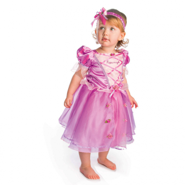 Amscan kostým Disney Rapunzel 18 - 24 měsíců růžový