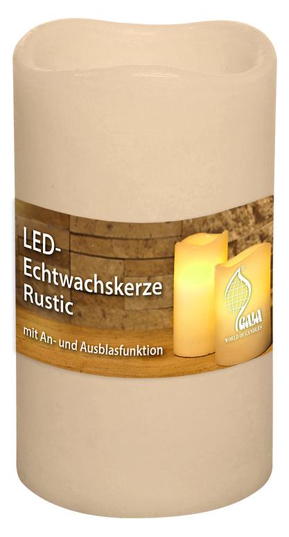 LED svíčka rustikální na baterie 75/125 Gala kerzen