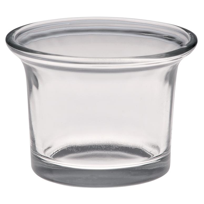 Svícen ze skla na svíčku Gala-kerzen