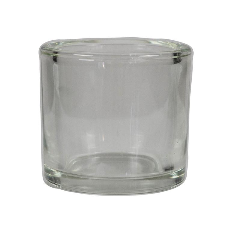 Svícen ze skla pro čajovou svíčku Gala-kerzen