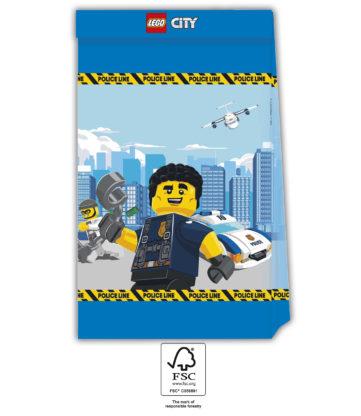 Lego City taška 4 ks papírová Procos