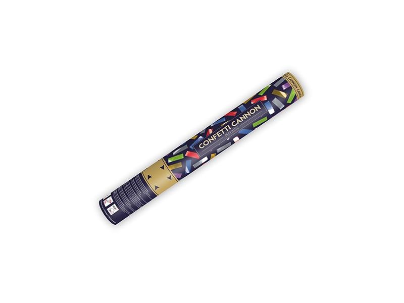Partydeco Vystřelovací konfety 40 cm metallic