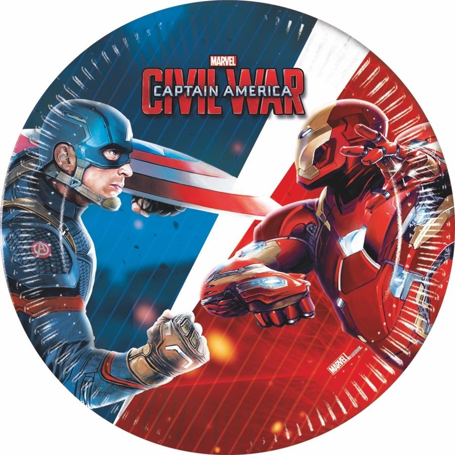 Captain America dekorace