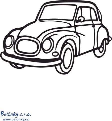 Omalovánky auto