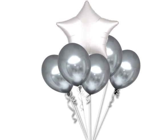 Chromové balónky