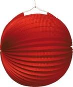 Lampion červený 25 cm