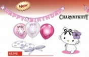 Charmmy Kitty Hearts deco set