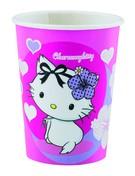 Kitty kelímky na pití 0,25l 8ks