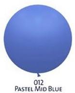 Obří balóny - JUMBO - 012 MID BLUE