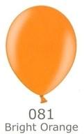 Balónky metalické - 081 BRIGHT ORANGE