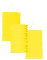 Lampion žlutý 28 cm,1ks
