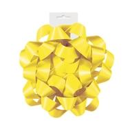 Dárková mašle žlutá 15,5cm