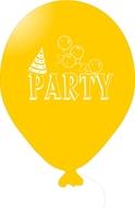 Balónky PARTY žluté 5ks