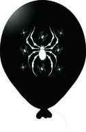 Balónek pavouk černý