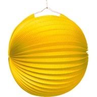 Lampion žlutý 25 cm