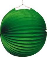 Lampion zelený 25 cm
